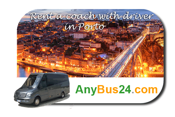 Rental of coach with driver in Porto
