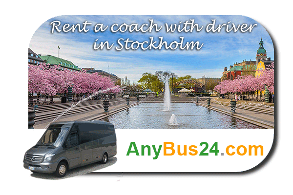 Rental of coach with driver in Stockholm
