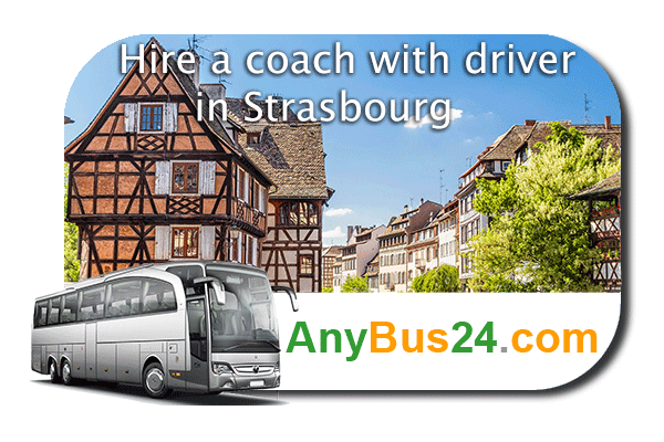 Hire a coach with driver in Strasbourg