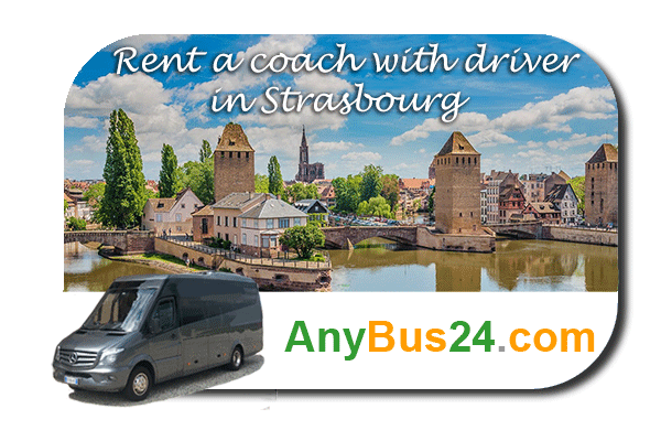 Rental of coach with driver in Strasbourg