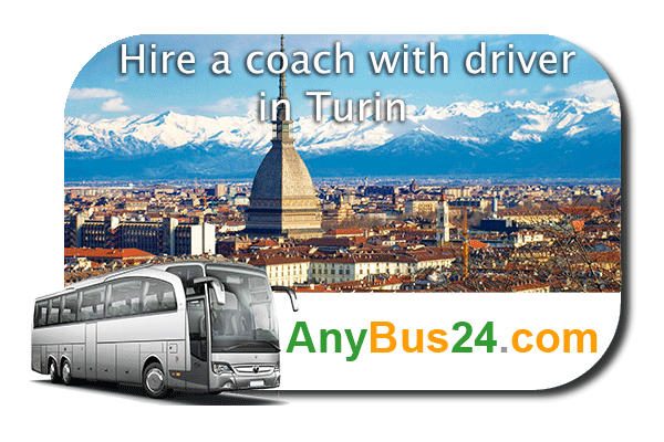 Hire a coach with driver in Turin
