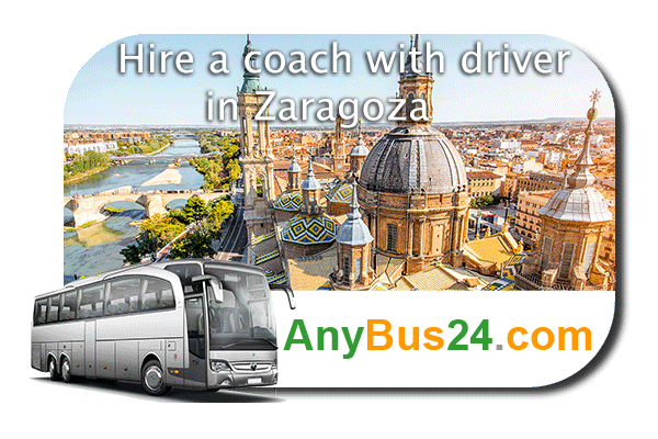 Hire a coach with driver in Zaragoza