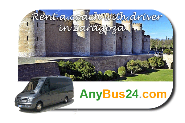 Rental of coach with driver in Zaragoza