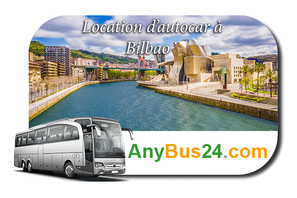 Location d'autocar à Bilbao