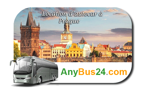 Location d'autocar à Prague