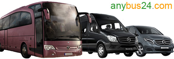 Booking bus and minibus with driver in Switzerland with anybus24.com