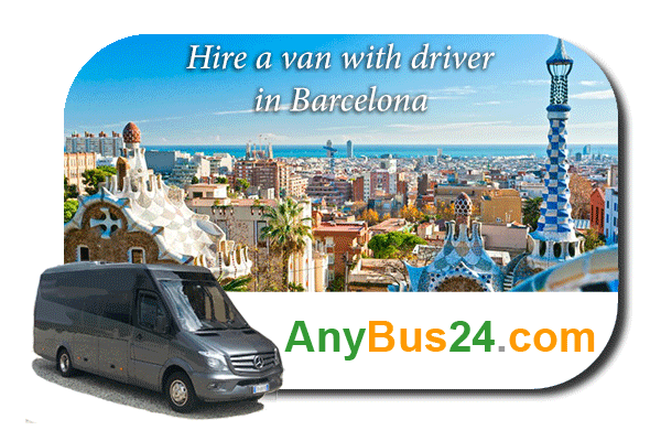 Hire a minibus with driver in Barcelona