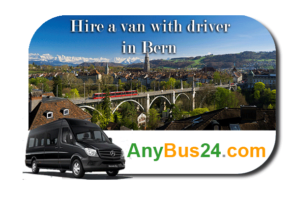 Hire a minibus with driver in Bern