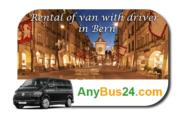 Rental of minibus with driver in Bern