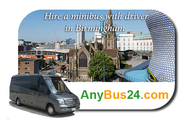 Hire a minibus with driver in Birmingham