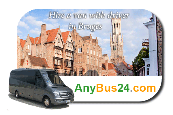 Hire a minibus with driver in Bruges