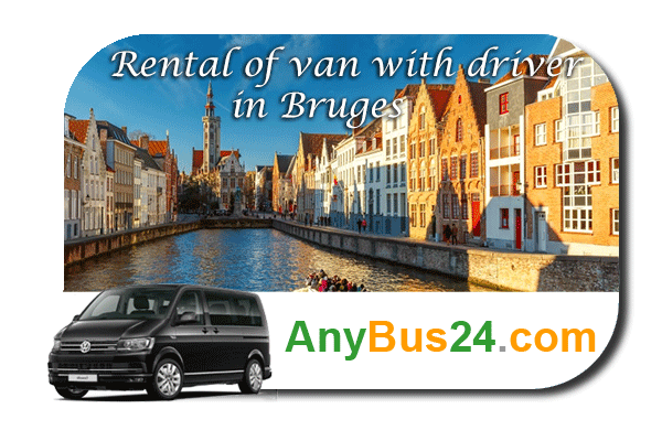 Rental of minibus with driver in Bruges