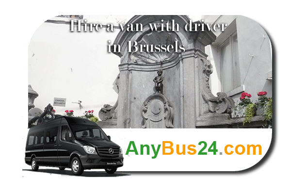 Hire a minibus with driver in Brussels