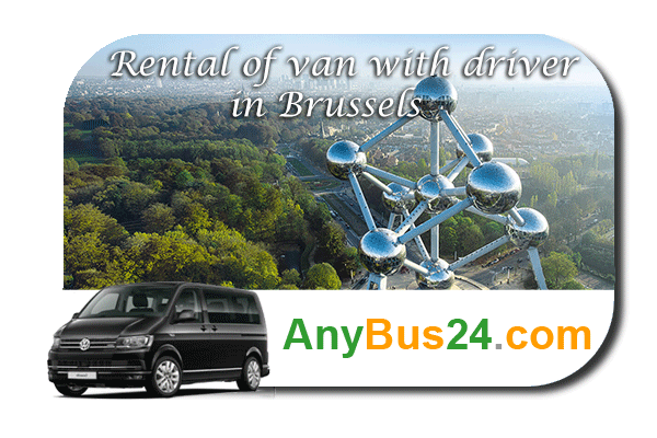 Rental of minibus with driver in Brussels