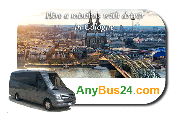 Hire a minibus with driver in Cologne