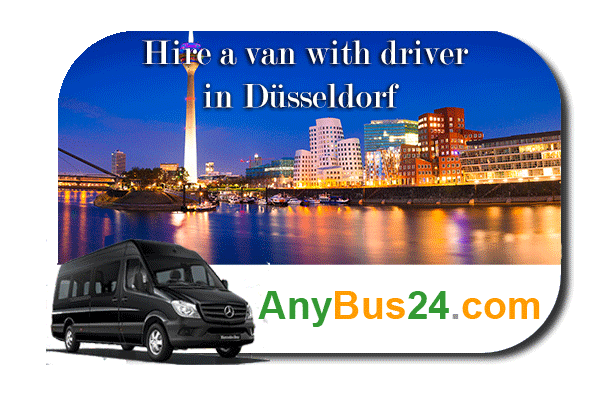 Hire a minibus with driver in Düsseldorf