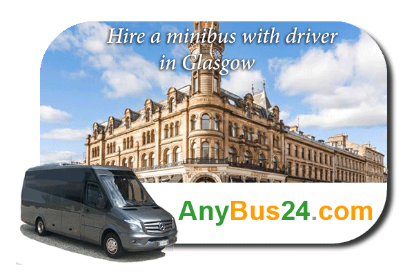 Hire a minibus with driver in Glasgow