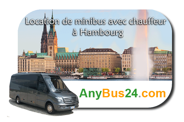 Hire a minibus with driver in Hamburg