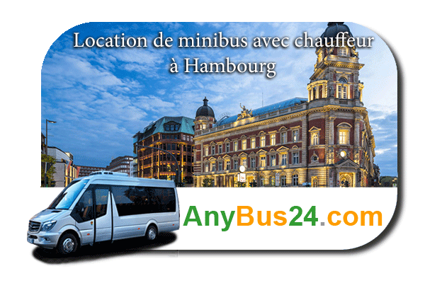 Rental of minibus with driver in Hamburg