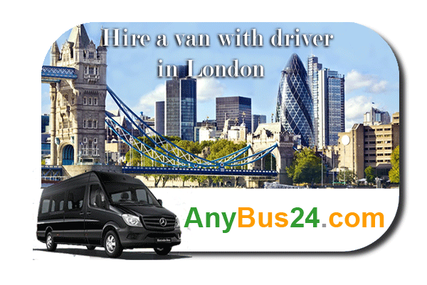 Hire a minibus with driver in London