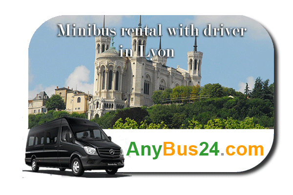 Hire a minibus with driver in Lyon