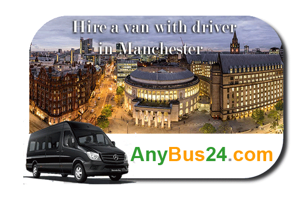 Hire a minibus with driver in Manchester