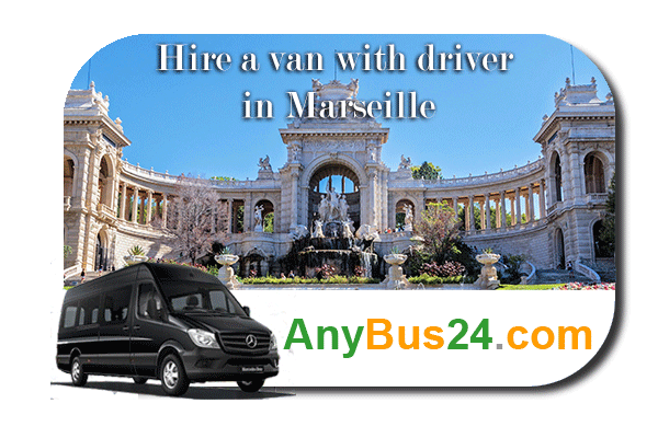 Hire a minibus with driver in Marseille