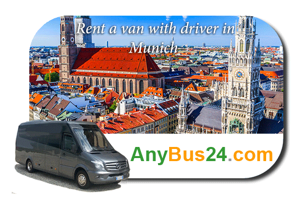 Hire a minibus with driver in Munich