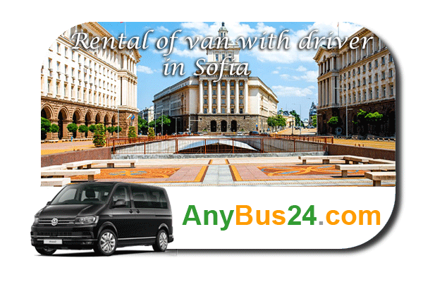 Rental of minibus with driver in Sofia