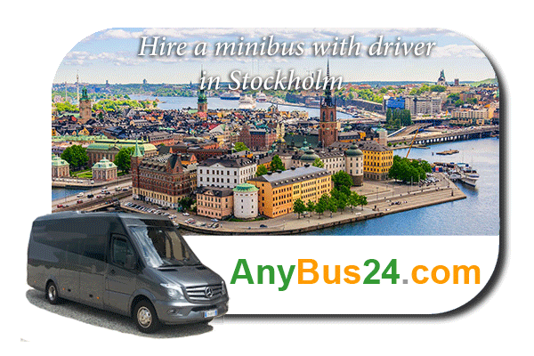 Hire a minibus with driver in Stockholm