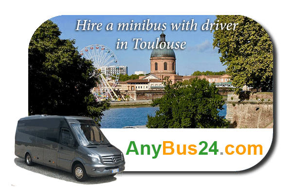 Hire a minibus with driver in Toulouse