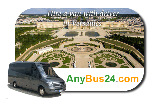 Hire a minibus with driver in Versailles